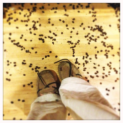 It can only get better from here, right? #morning #fromwhereistand #beansandglasseverywhere