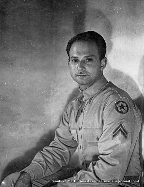 Martin Anastasi, military portrait