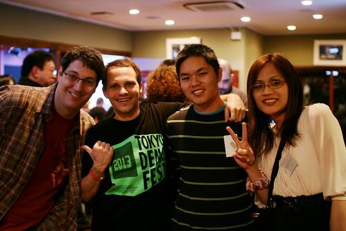 Group shot at Tokyo Demo Fest 2013