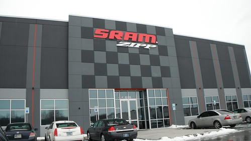SRAM/Zipp Wheels Factory