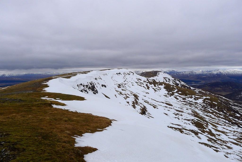 Meall Buidhe ridge