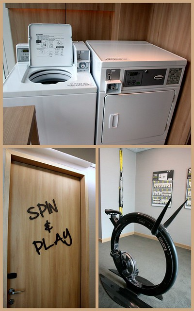 DIY Laundry rooms with Xbox Kinect, TRX training to keep you occupied between spin cycles