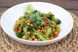 Spring Cleanse - Broccoli and Chickpea Curry - Gluten-free + Vegan