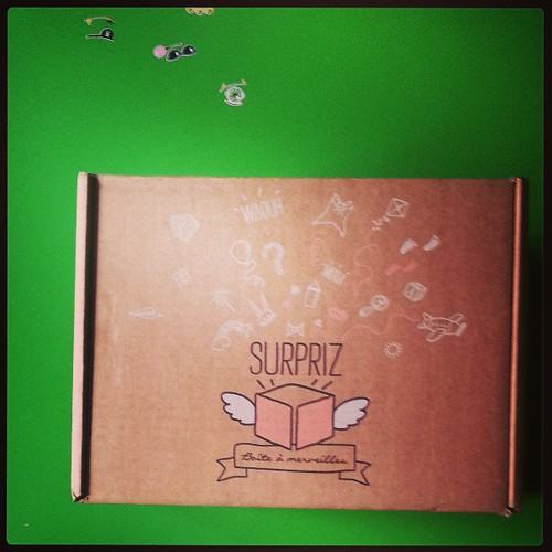 #box surpriz reçu ♡♥♡