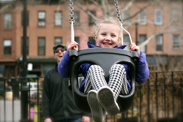 Swingin' Zoey, Carroll Park, Brooklyn, NY - March 2013