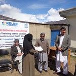 Chitral 15 days training for health workers by Relief International