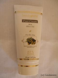 Cream para pies de Aroma Dead Sea