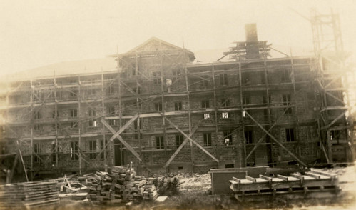 Construction of the Houston Negro Hospital