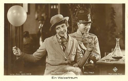 Mady Christians & Willy Fritsch in Ein Walzertraum