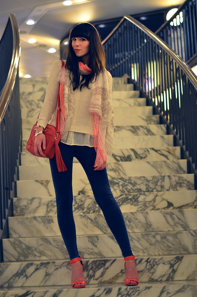 Outfit for Stradivarius Magazine March 2013 Blogger Styling 8
