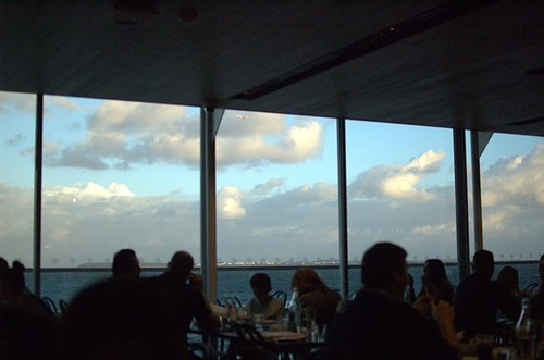 Hurricane's Grill: The view