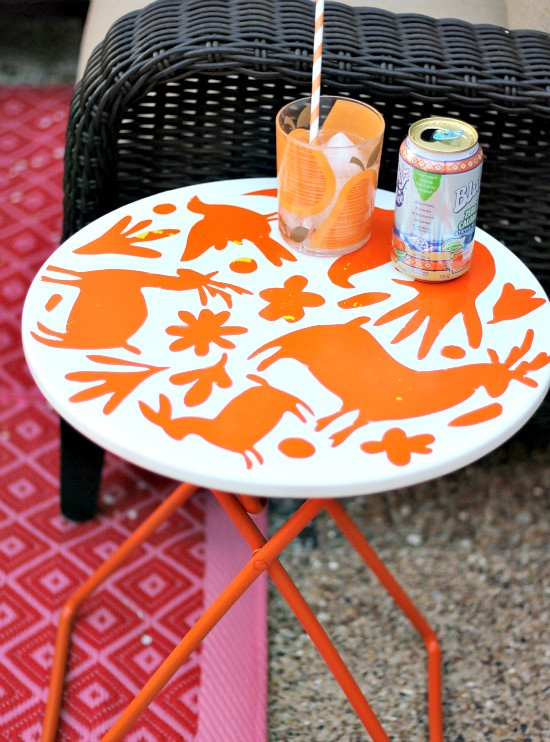 Hi Sugarplum DIY Otomi Table (9)