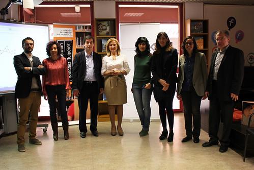 Firma convenio colaboración con Fundación Germán Sánchez Ruipérez