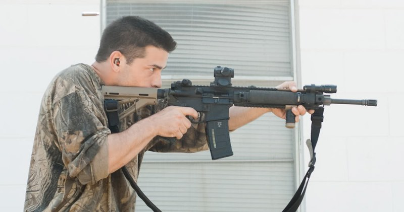 sniper tricks at 100 meter