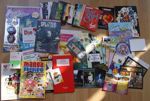 Buchmesse Leipzig 2013 - Beute