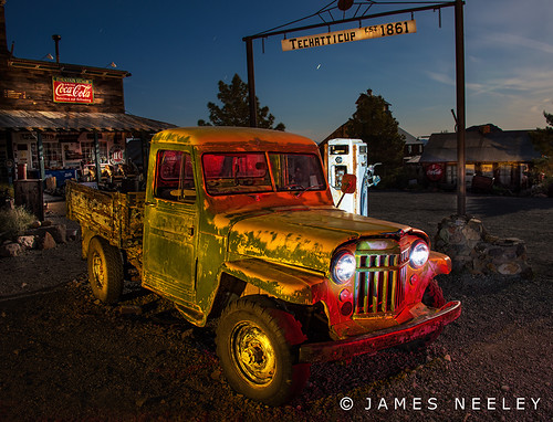 Filling Up in Nelson by James Neeley