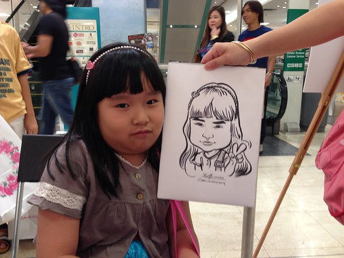 caricature live sketching for Takashimaya Good Friday Special - 7