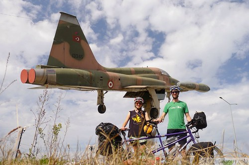Bicycle touring a tandem bike across Turkey