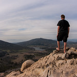 Self-portrait: Me atop Stonewall Peak.