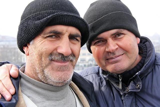 Men in Istanbul, Turkey イスタンブールのおっちゃんたち