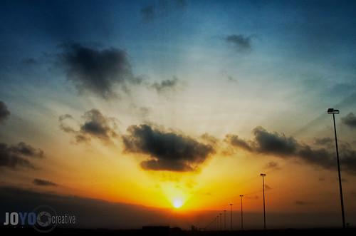 africa sky sun clouds sunrise easter djibouti