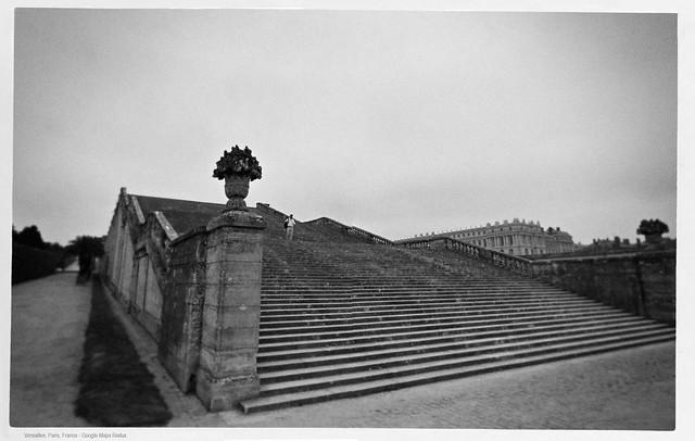 Staircase, Versailles, Paris - Google Maps Redux