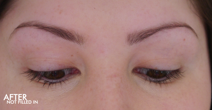 hd brows before and after review zen lifestyle spa 3
