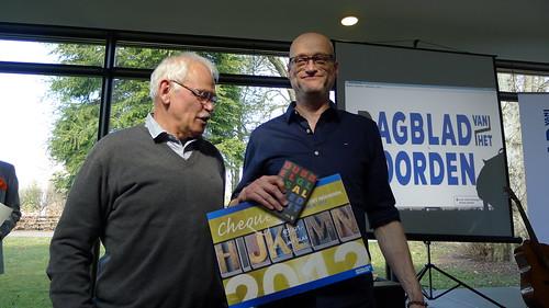 Jan Glas wint streektaalprijs 2013