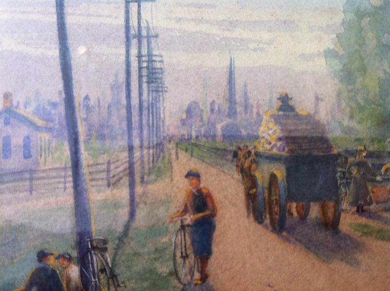 Roads Were Not Built For Cars cover close-up (Whipple 1897)