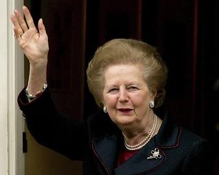 【高清组图】英国前首相撒切尔夫人去世 享年87岁