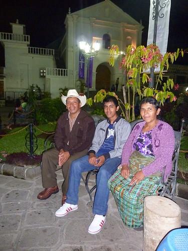 José Antonio and parents