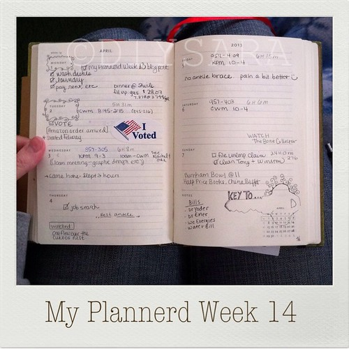 My Plannerd Week 14