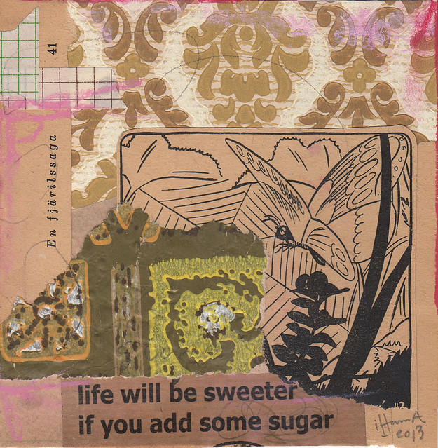 Collage: Sugar Tail