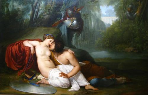 リナルドとアルミーダ Painting by Francesco Hayez( 1791) - Free Photos fotoq