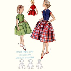 Simplicity 4387 Rockabilly dress