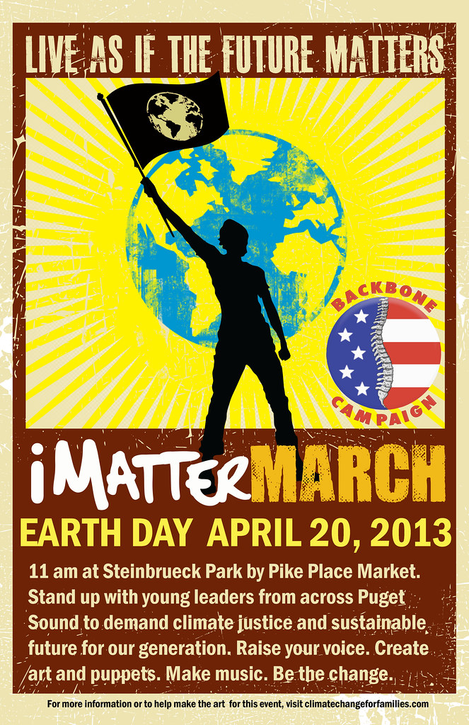 iMatterMarchPosterLarge with logo