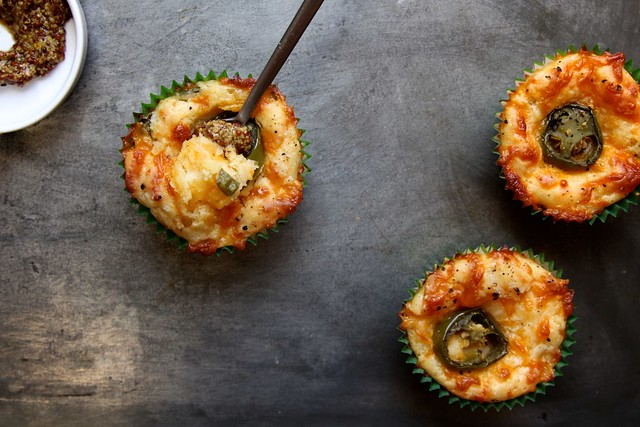too much cheddar and jalapeno muffins