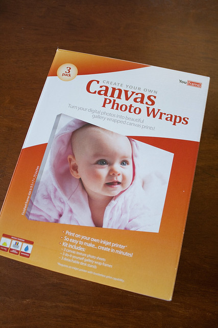 DIY Photo Canvas Kit Review