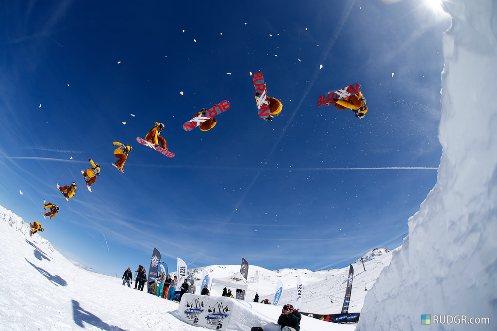 Big Air contest with Seppe Smits