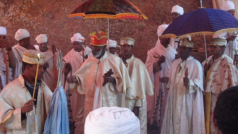 Cerimónia Cristã Ortodoxa em Lalibela