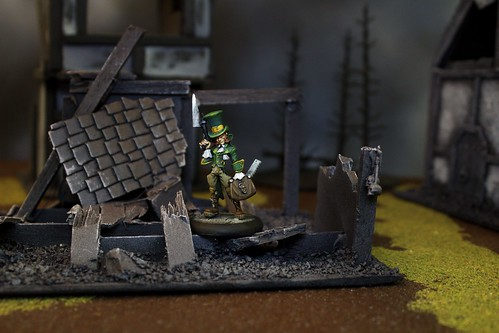 Seamus Miniatures from the Resurrectionist Faction of Malifaux War Game