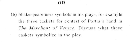 DU SOL B.A. Programme Question Paper -  English Discipline -  PaperVII/VIII