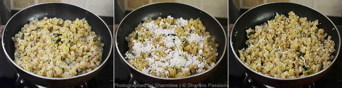 Vazhaithandu Poriyal Recipe - Step5