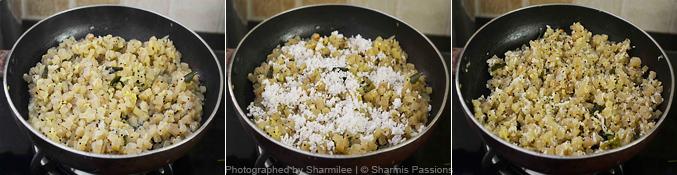 Vazhaithandu Poriyal Recipe - Step5