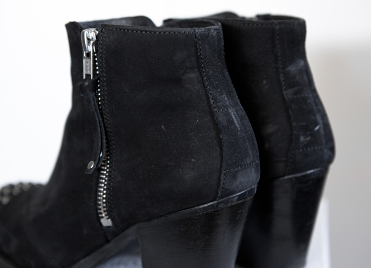 Topshop Ambush Side Zip Boots