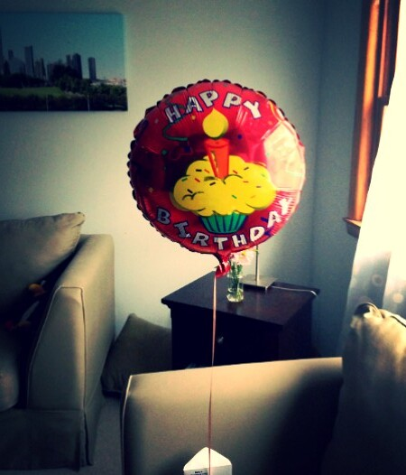 birthday baloon
