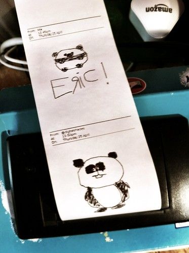 I've got pandas on my printer