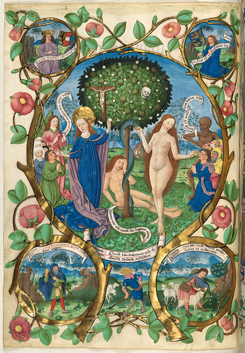 011-El arbol del bien y del mal-Misal de Salzburgo-1499-Tomo 3-Biblioteca Estatal de Baviera (BSB)