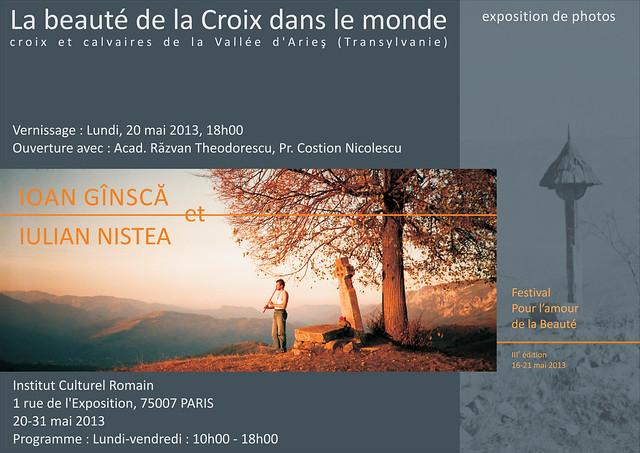 EXPO : La beauté de la Croix dans le monde (20-31 mai 2013, Paris)