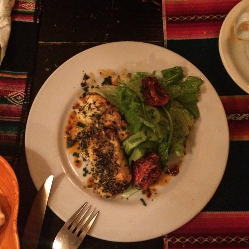 Humahuaca: triangulitos de queso de cabra (petits traingles de fromage de chèvre). pas mauvais du tout !